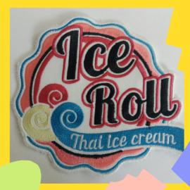 Шеврон логотип ICE ROLL